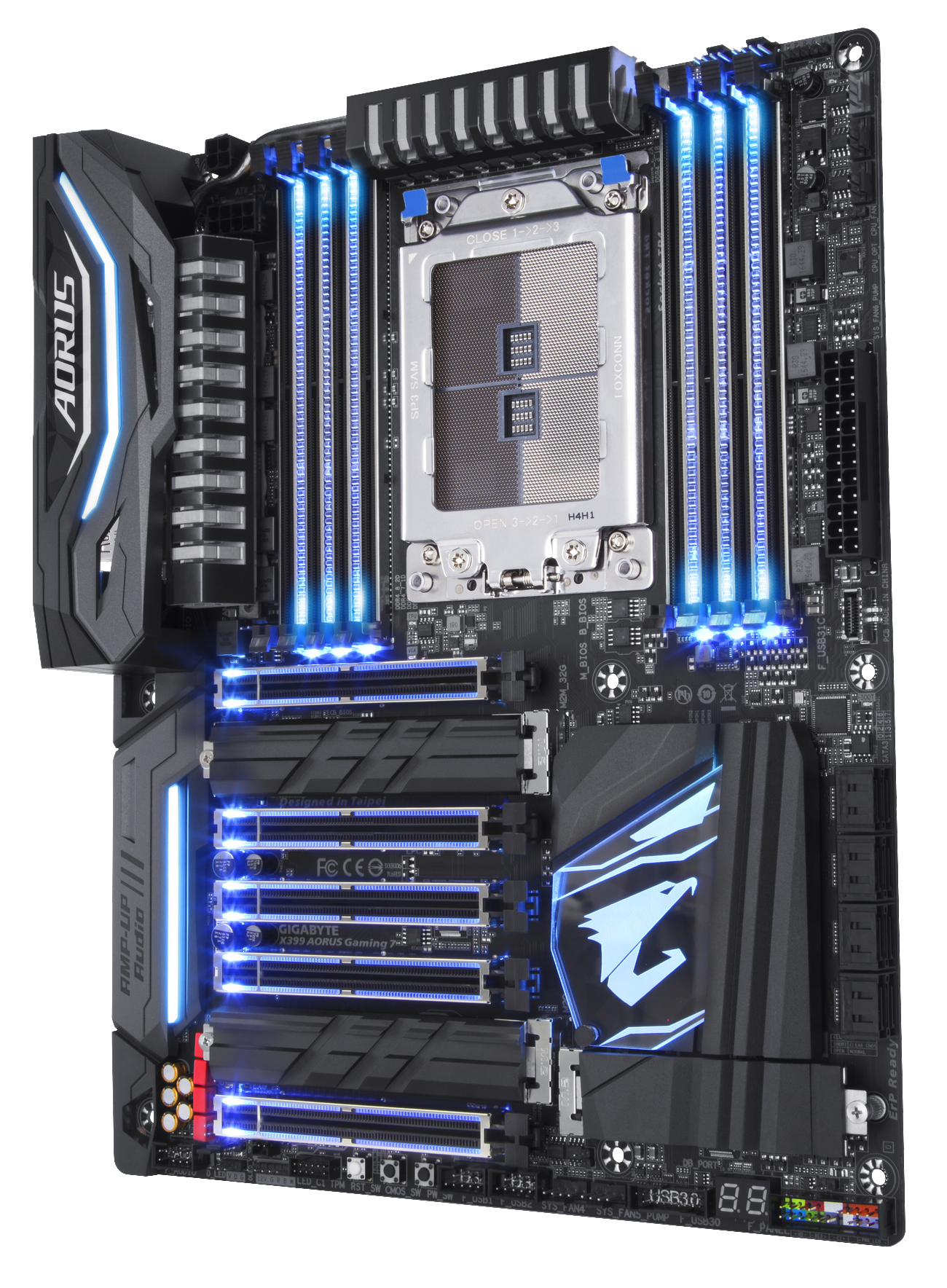 Shred All Limitations-X399 AORUS Gaming 7 Motherboard | AORUS