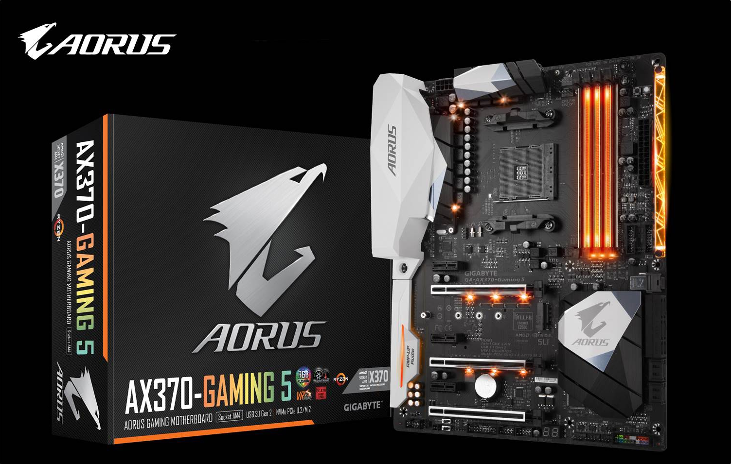 The Ideal Match for Ryzen 7 - AORUS AX370-Gaming 5